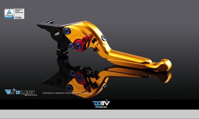 Bi-Folding & Extendable Brake and Clutch Levers Type S (Adapter are included)(Sold in pairs)