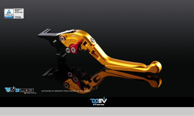 Bi-Folding & Extendable brake and clutch levers type 3(Adapter are included)(Sold in pairs)